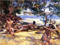 Sargent, The Bathers (1917)