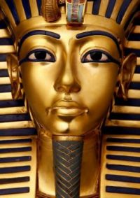 King Tut-Ankh-Amon's Golden Deathmask... WOW!!!