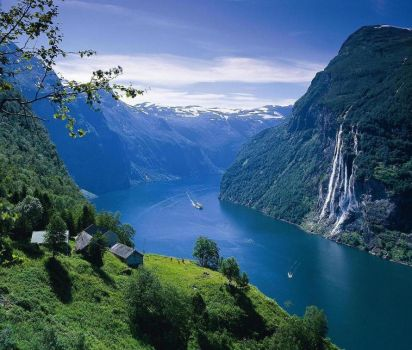 Seven Sisters Falls - Norway
