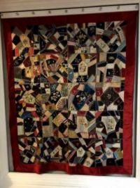 Crazy Quilt Handmade Antique