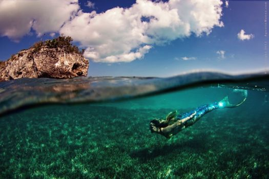 Underwater Mermaid, Linden Wolbert.