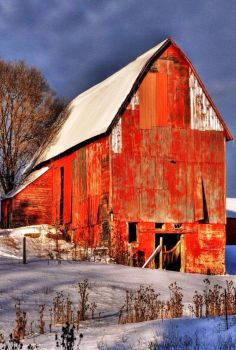 Big Old Red Barn