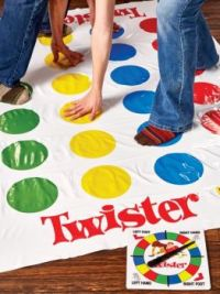 Twister-weekly theme: toys & games