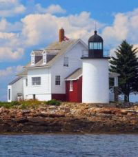 Blue Hill Bay Lighthouse -- Maine...