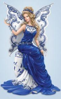 Blue Beauty Butterfly Angel