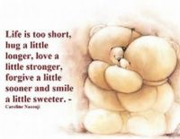 Life is too short,
