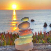 Sea Glass Sculpture