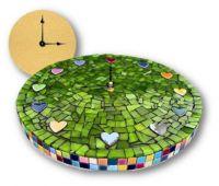 THEME: CLOCKS & TIME PIECES - MOSAIC CLOCK