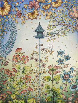 Secret Garden Birdhouse
