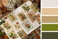 Vintage Floral Stamps