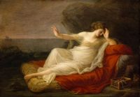 Angelica Kauffmann - Ariadne Abandoned by Theseus (1774)
