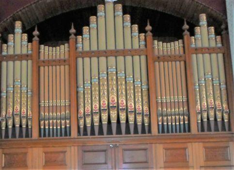Kelton Church Organ Pipes 2