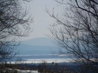 Lake Champlain view from Dannemora NY
