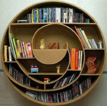 Bookshelf as Art