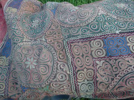 Kazakh fabric