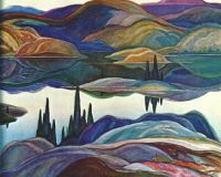 Mirror Lake by Franklin Carmichael, 1929
