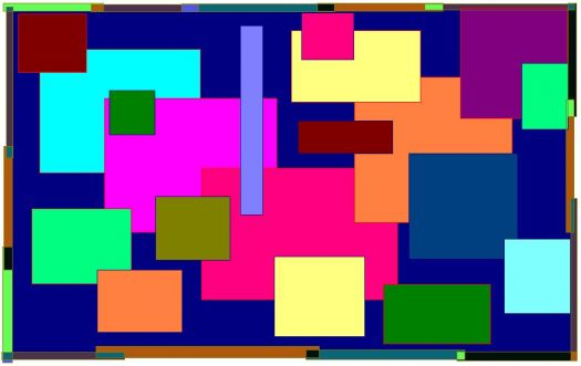 Colored Squares Small