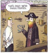 Swiss pirate