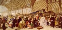 William Powell Frith--The Railway Station, 1863