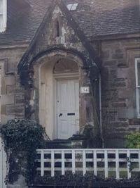 An interesting doorway