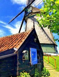 Windmill in Wijde Wormer