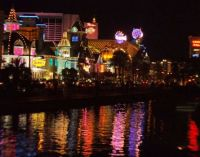 The lights of Vegas
