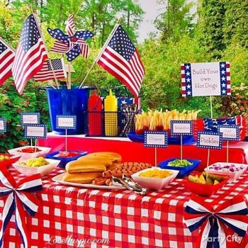 July 4th Hot Dog Stand