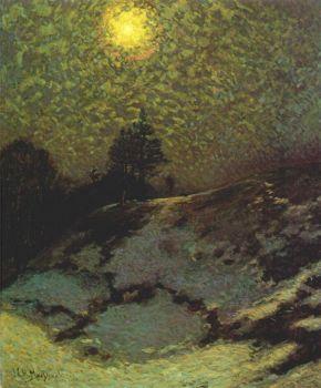Early Evening Winter, 1912,  JEH MacDonald