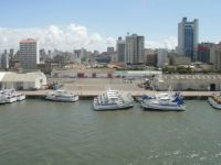 Maputo Harbour and City