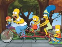 Simpsons_TandomBike