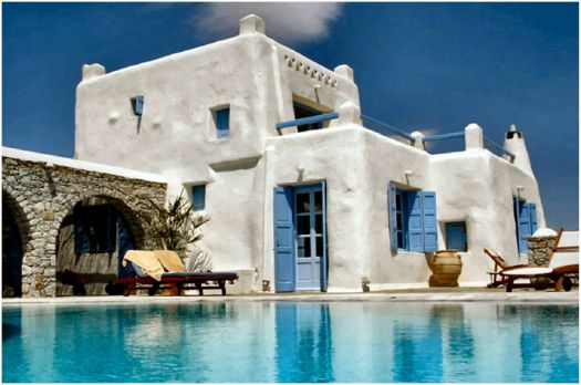 Greek Villa in Mykonos