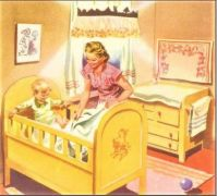 Themes Vintage illustrations/pictures - Bedtime