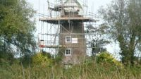 Ongoing Windmill restoration - Norfolk Broads