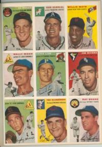 Sports Illustrated, 8/15/54 players 1