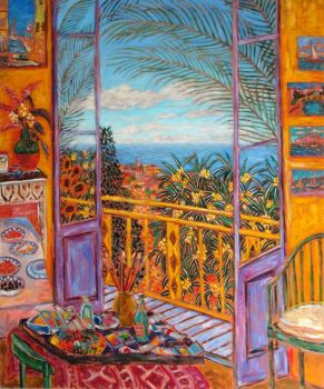 Bonnard's Dining Room - Damian Elwes