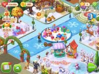 Gardenscapes Christmas village (large)