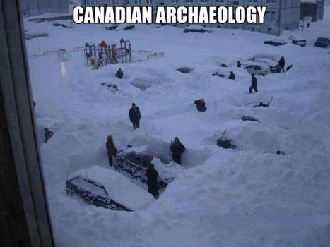 snow diggers