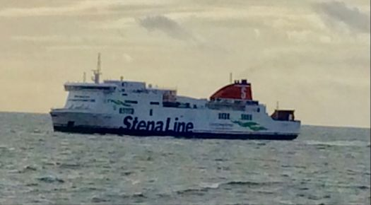 Steam Line heading for Liverpool