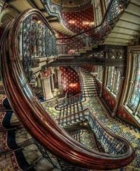 st pancras hotel staircase 1873