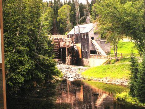Grist Mill Kings Landing N.B