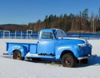 The Blueberry Farm's Blue Truck