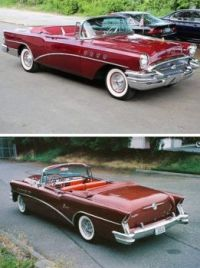 1955 and 56 Buick Roadmaster!   Bandit