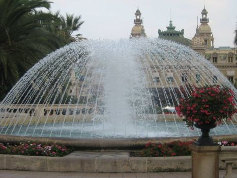 Fountain in Monaco