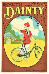 Themes Vintage ads - Dainty Bicycles 1918