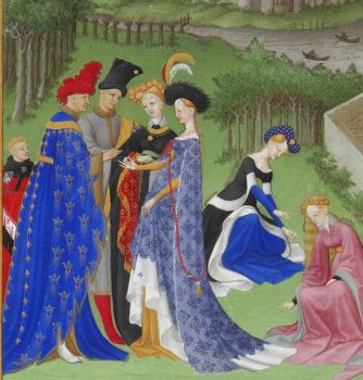 1400-1500 European fashion