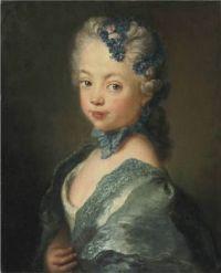 ca. 1750 Portrait of the artist's granddaughter Antoine Pesne