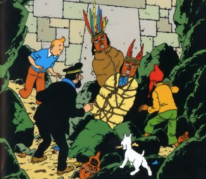 Tintin and the Suntemple