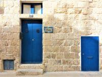 Blue Wooden Doors