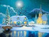 Country Snowfall by Richard Burns