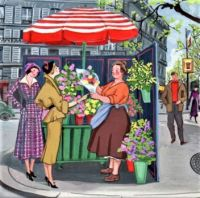Paris in May - The Flower Seller